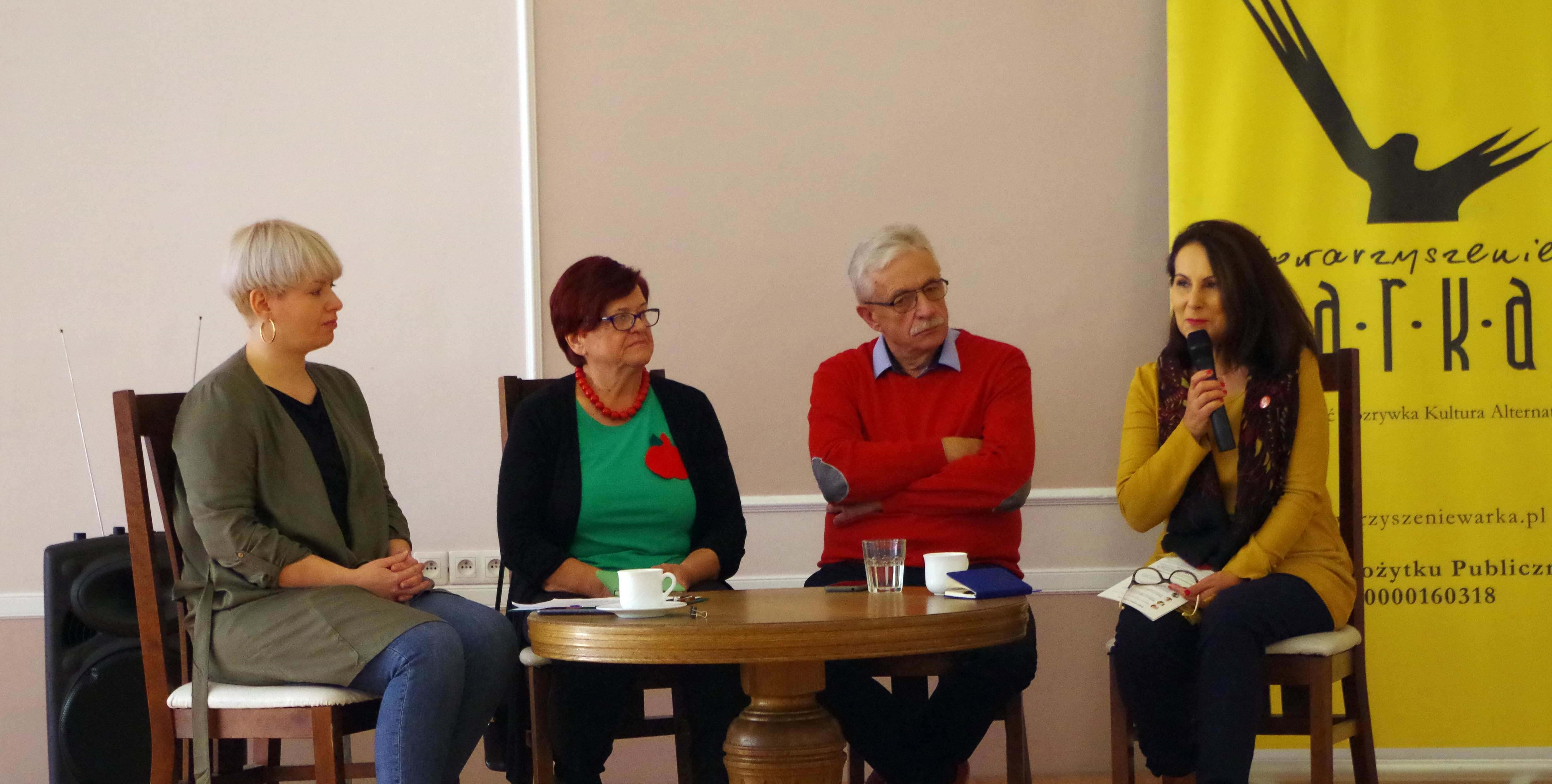 """Debata """"Bez względu na wiek – wolontariat Seniorów"""""""