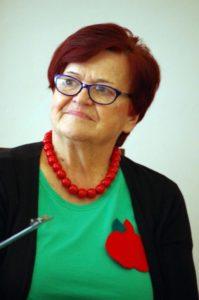 Halina Fruba z Klubu Seniora Czerwone Jabłuszko w Nowej Wsi
