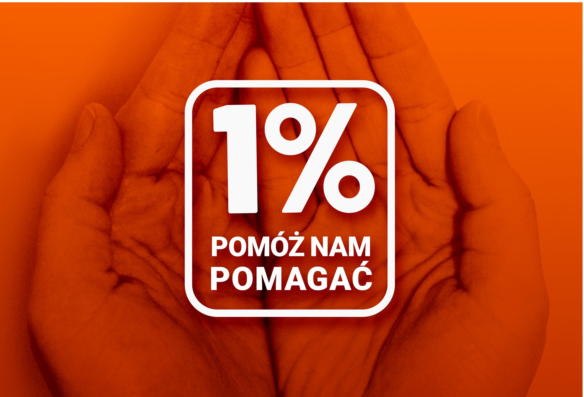 Pomóż nam pomagać – przekaż swój 1% podatku