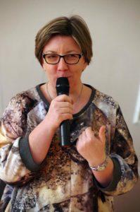 Agnieszka Lissowska-Lewkowicz - prezes Stowarzyszenie Centrum Wolontariatu
