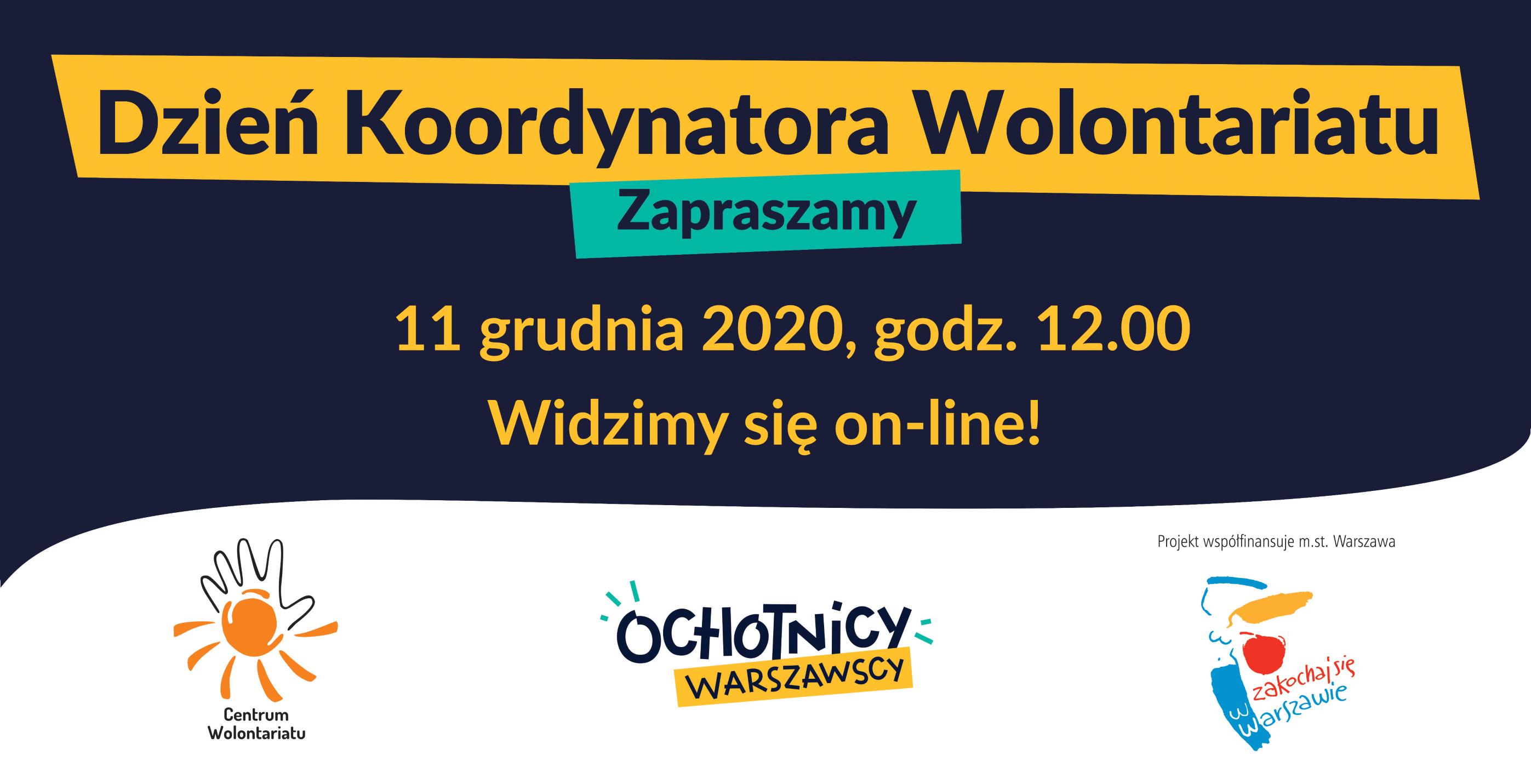 Dzień Koordynatora Wolontariatu – zaproszenie!